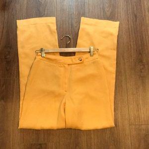 Stunning Tahari Yellow Pants